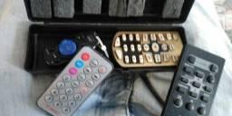 Controles para rádio carro