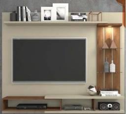 Título do anúncio: Rack suspenso para sala de estar / espaço para TV L 139 x A 102 cm/
