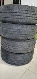 Título do anúncio: 4 pneu 265/60r18 bridgestone dueler ht