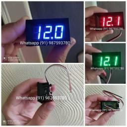 Voltímetro Digital Automotivo