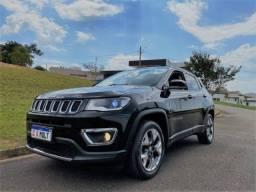 Jeep Compass Limited 2018 - Baixo km, Top de linha - Aceito trocas e Financio em até 60x
