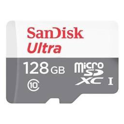 Cartão de Memória Sandisk Ultra Micro SDXC 128GB Classe 10
