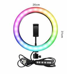 Ring Light com led colorido!