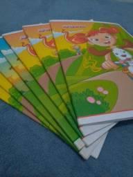 7 Cadernos 60 folhas