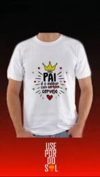Camisas malha PP personalizas dia dos pais