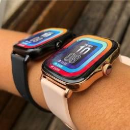 Smartwatch Y20 dourado PROMOÇÃO