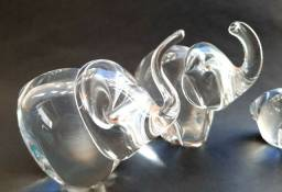 Elefantes em Cristal retrô