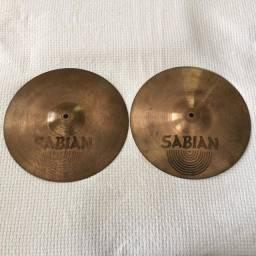 """Chimbal Sabian B8 Hi-hat 13"""""""