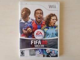 Fifa 08 soccer jogo game clássico futebol fifa 2008 original Nintendo Wii