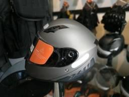 Capacete X11 Trust Solid Chumbo - 100% NOVO