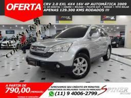 Honda CRV 2.0 EXL 4x4 16v 4p Automática Top de Linha C/ Couro + Teto Solar Baixa KM