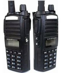 Radio Ht Dual Band(uhf+vhf) Lote 2 Baofeng Uv 82 + Fone