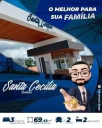 Condomínio de casa em Marechal Deodoro - Santa Cecília Residence