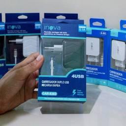 Carregadores para IPhone ou Android