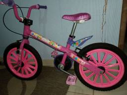 Linda bicicleta infantil feminina aro 16