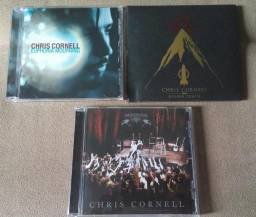 LOTE 3 CD's CHRIS CORNELL «EUPHORIA MOURNING» + «HIGHER TRUTH» + «SONGBOOK»