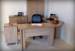 Conjunto móveis escritório direto fabrica Novos 4 pcs Consulte cores!