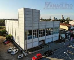 Sala comercial com 1.000 m² | Av. principal da cidade