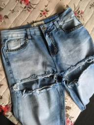 Calça sixone jeans