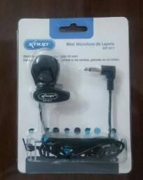 Microfone de lapela KP911