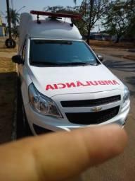 Ambulância GM Montana 2019 - 2018
