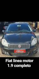 Fiat linea motor 1.9 completo - 2010