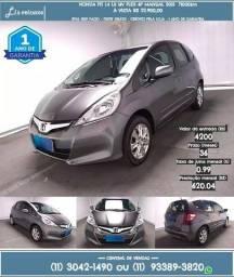 Honda Fit 1.4 Lx 4p 2014 Cinza R$w8.788 76088km - 2014