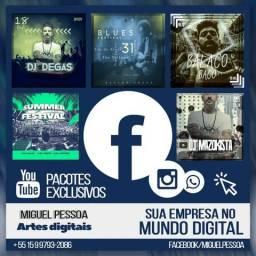 Artes digitais pra mídias sociais