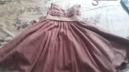 Vestido usado uma única vez