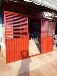 Vende-se portão instalado 320×220 /1.300 a vista