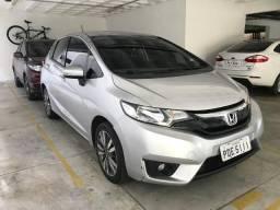 Honda Fit EX cvt automático completo. Sensor e câmera de ré. Cor prata. Única dona - 2016