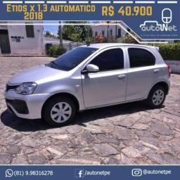 Toyota Etios X 1.3 Automático - 2018
