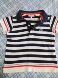 Camisa infantil LACOSTE Original
