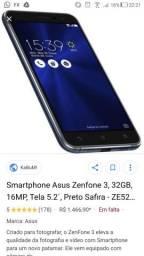 Asus Zenfone 3 ( 32 gigas, tela 5.2 )