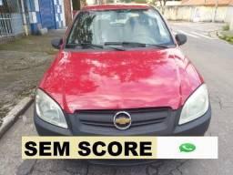 Gm - Chevrolet Celta prata financiamento com score baixo - 2007