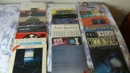 LPs diversos e compactos antigos, vários nacionais e internacionais