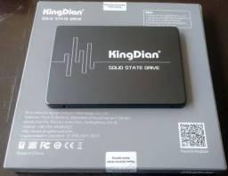 SSD 480 gb lacrado acc cartão