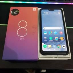 Xiaomi Mi 8 Lite 64 gb + 4gb ram semi-novo