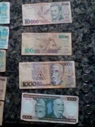 Dinheiro antigo para coleção