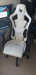 Cadeira gamer bukhara/white edition exclusiva