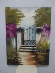Quadro/pintura óleo sobre tela