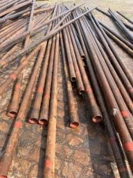 Tubos de aço carbono usados em bom estado para uso geral em construção
