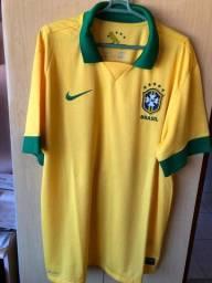 Camisa Seleção Brasileira 2013