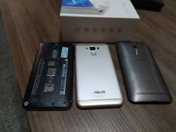 Asus ZenFone 3 Max 5.5,e outros dois ZenFone 2