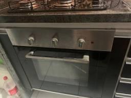Cooktop e forno elétrico