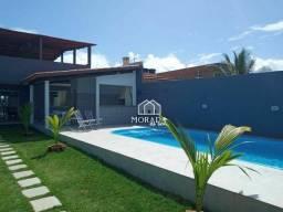 Casa à venda com 3 dormitórios em Arembepe, Camaçari cod:CA0107