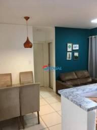 Apartamento com 2 dormitórios à venda, 52 m² por R$ 255.000,00 - Industrial - Porto Velho/