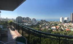 Barra da Tijuca apto 4 qts 220m² c/ 3 vagas vista mar