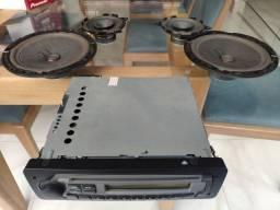 Rádio Original Fiat 4 alto falantes
