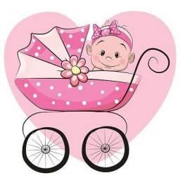 Lote Bebê Menina Inverno/meia estação